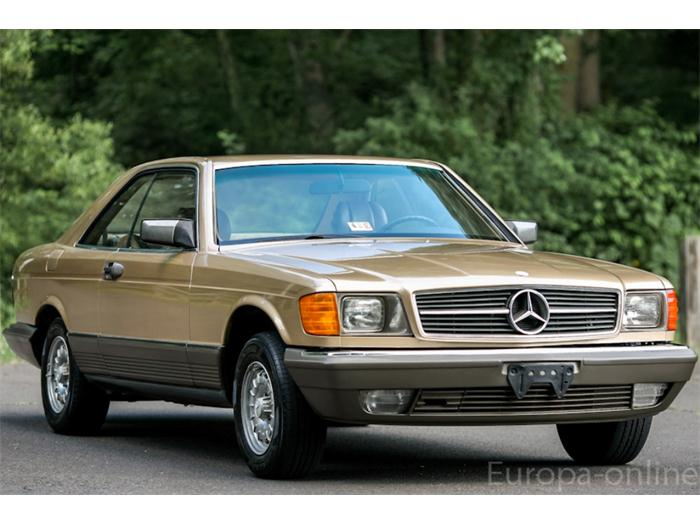 mercedes benz 380sec information and photos momentcar