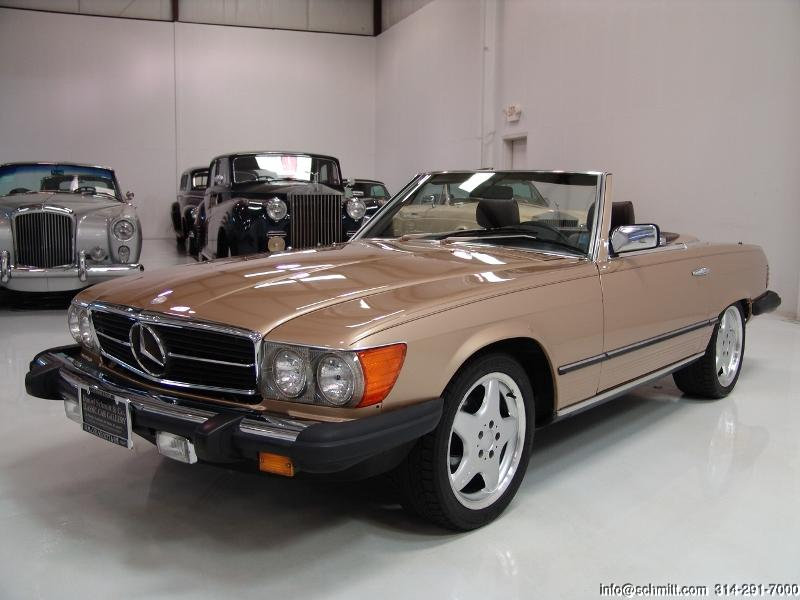 mercedes benz 380sl information and photos momentcar