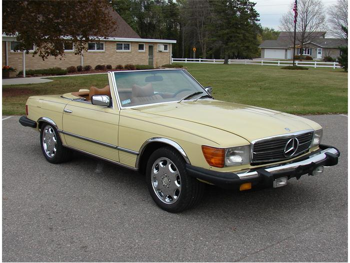 1979 mercedes benz 450sl information and photos momentcar