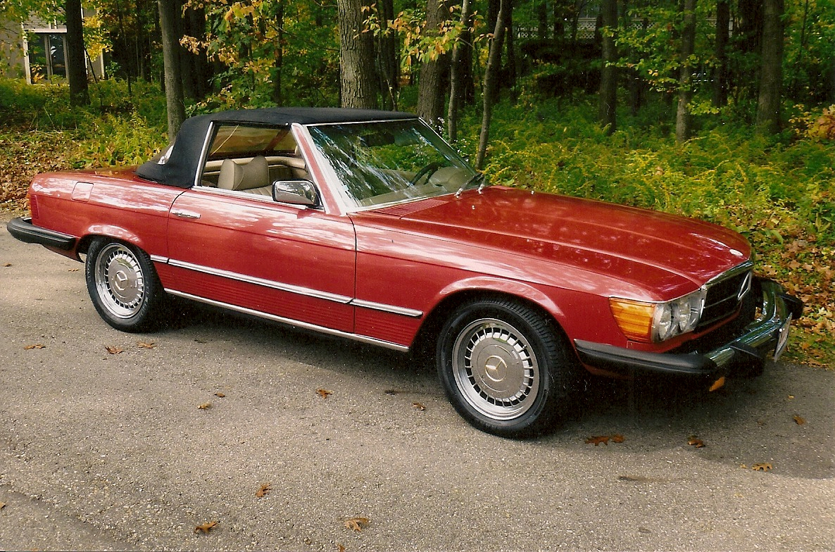 Mercedes Benz 450sl Information And Photos Momentcar