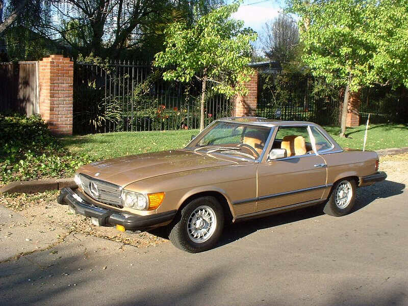 Mercedes-Benz 450SLC 1976 #13