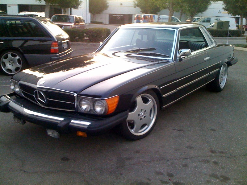 Mercedes-Benz 450SLC 1976 #10