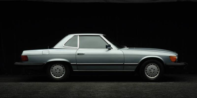 Mercedes-Benz 450SLC 1980 #2