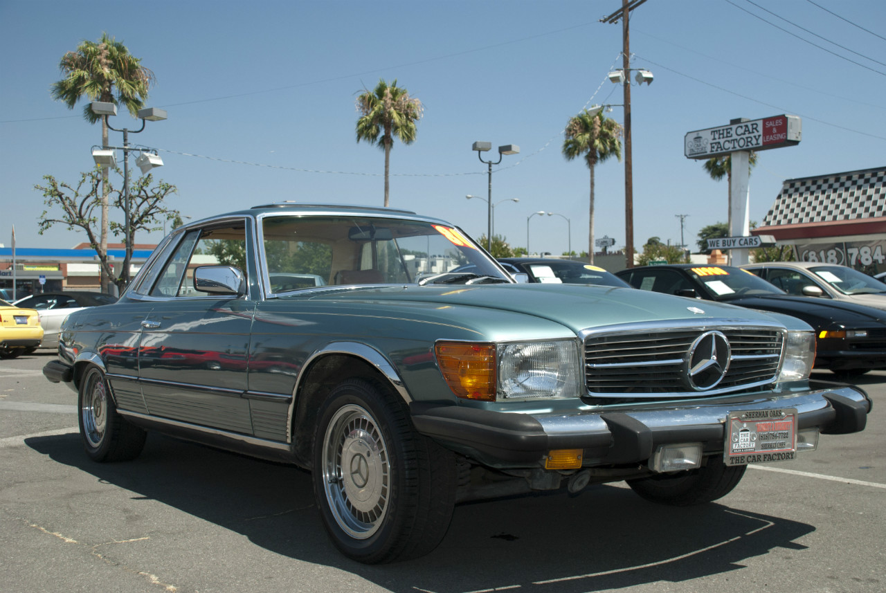 Mercedes-Benz 450SLC 1980 #6