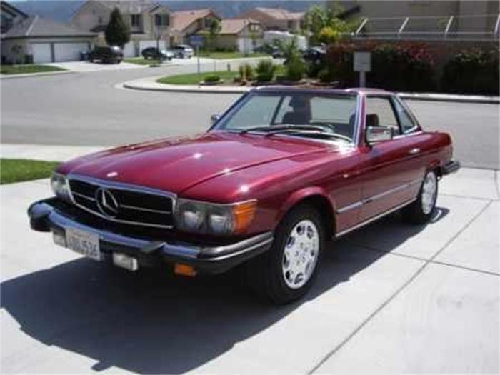 Mercedes-Benz 450SLC 1980 #9