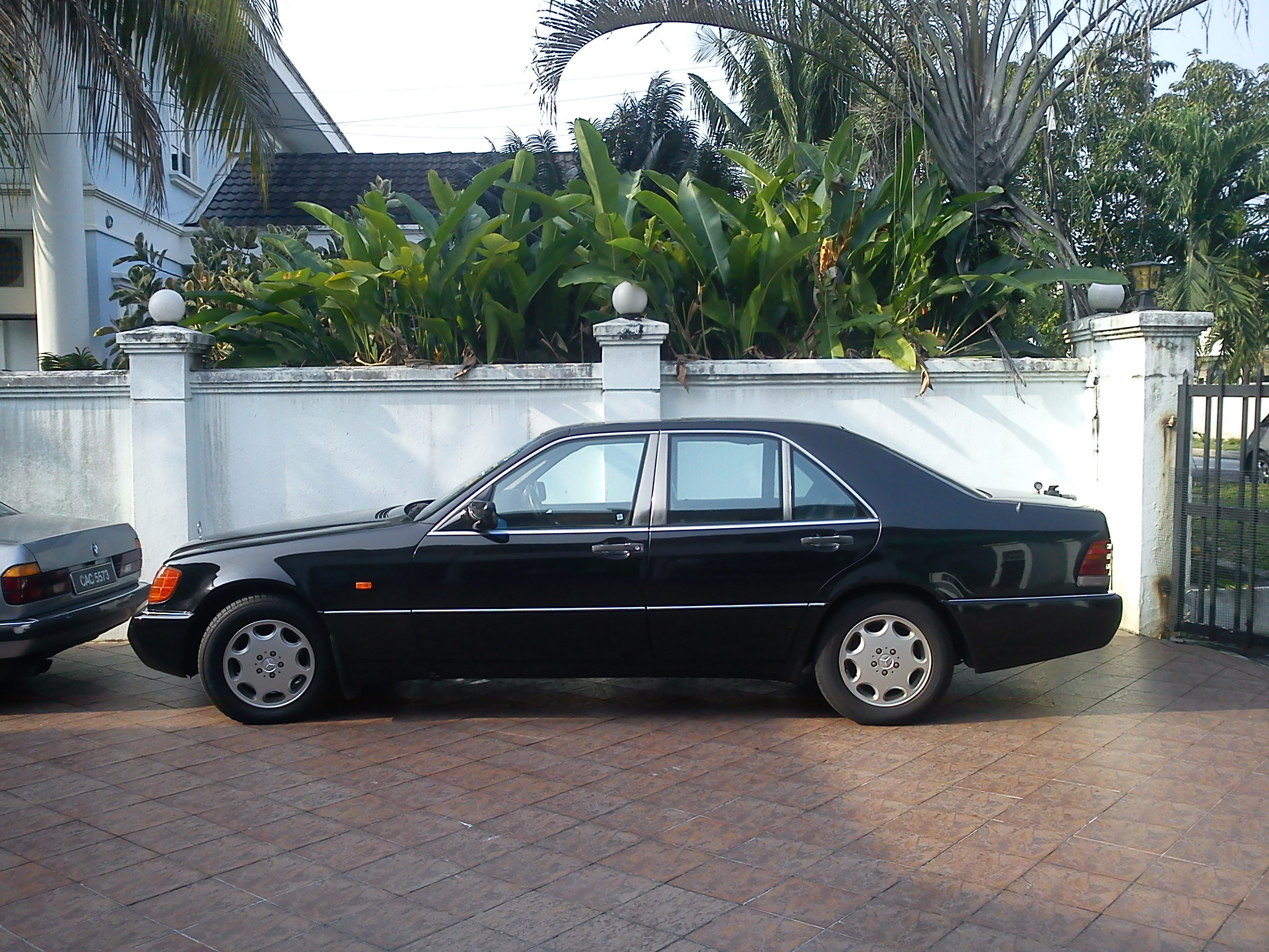 Benz s class w140 600sel or s600 m120 394 hp w140 information -  Mercedes Benz 600 Class 1992 8