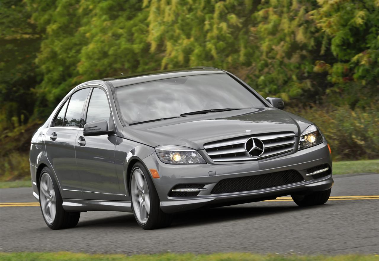 2011 mercedes benz c class information and photos. Black Bedroom Furniture Sets. Home Design Ideas