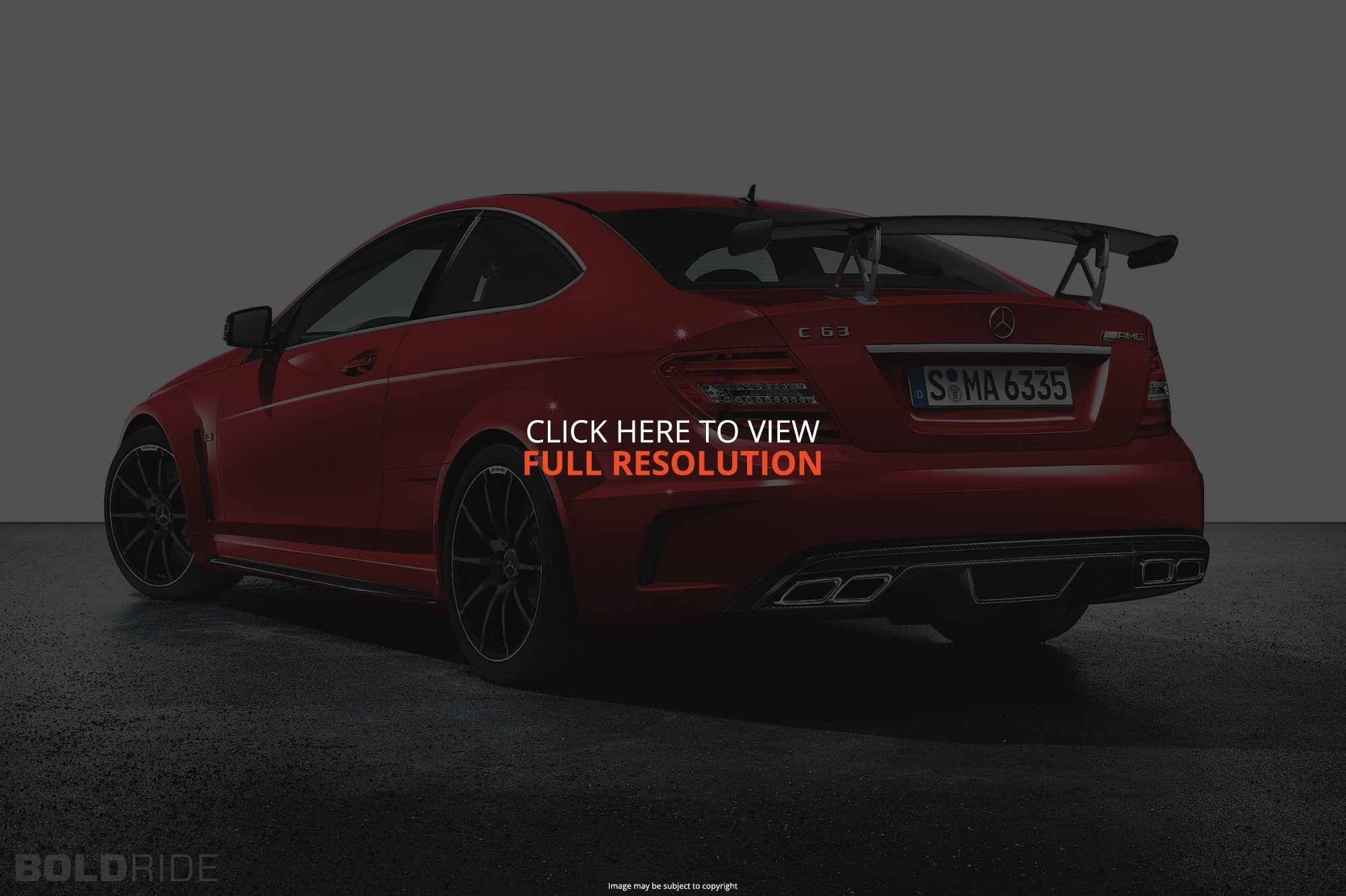 Mercedes-Benz C-Class C63 AMG Black Series #23
