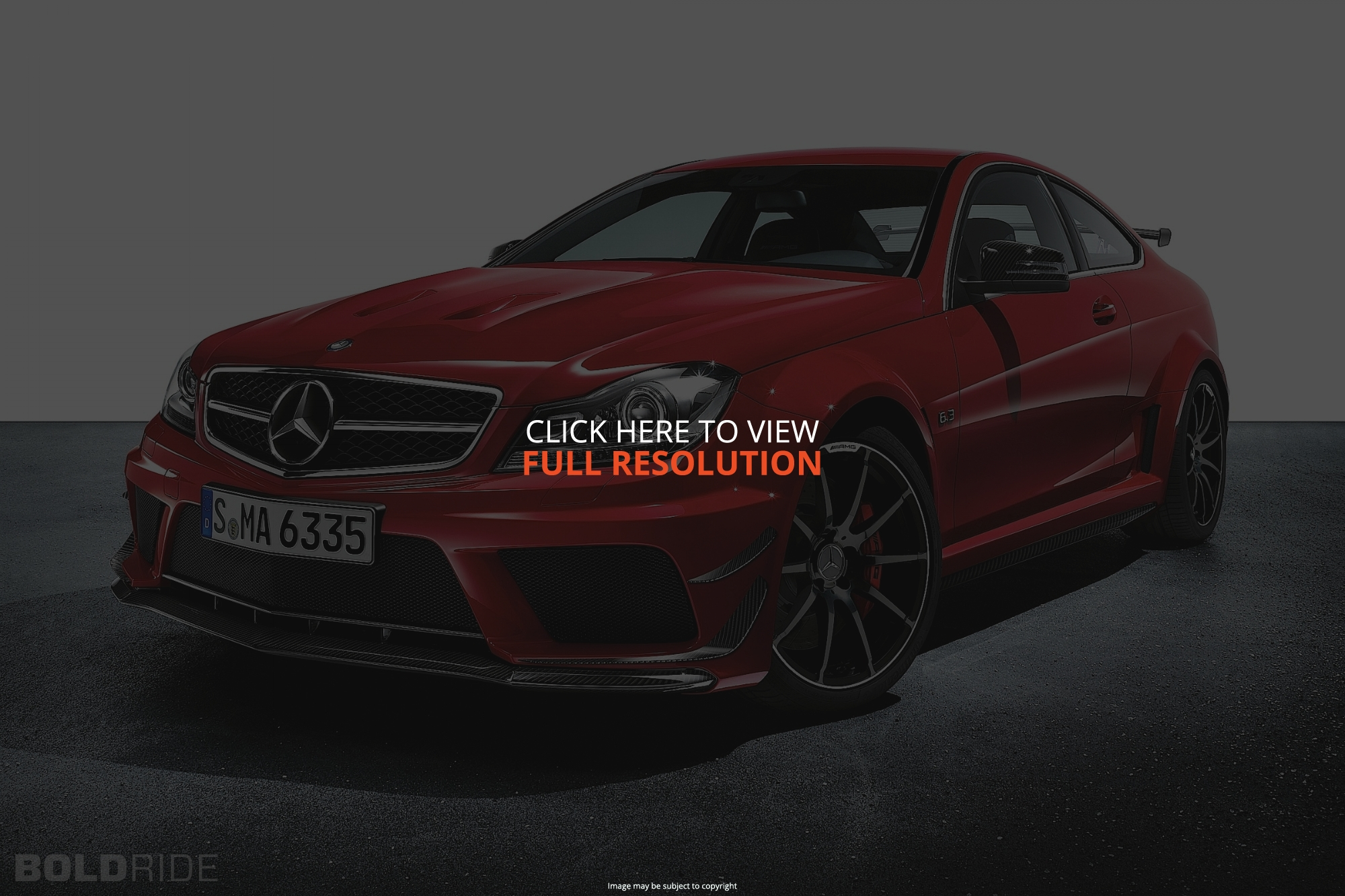 Mercedes-Benz C-Class C63 AMG Black Series #24