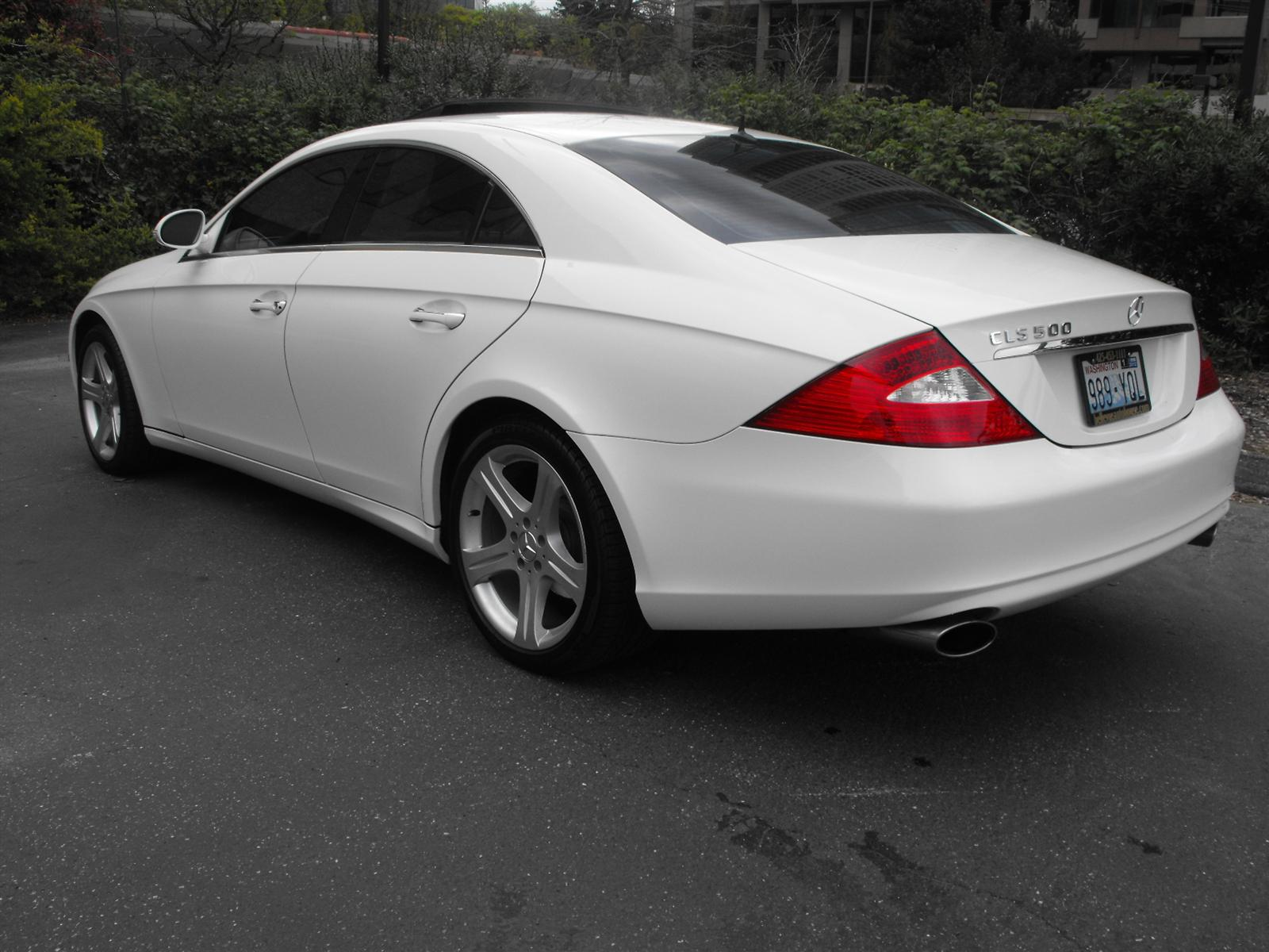 2006 mercedes benz cls class information and photos. Black Bedroom Furniture Sets. Home Design Ideas