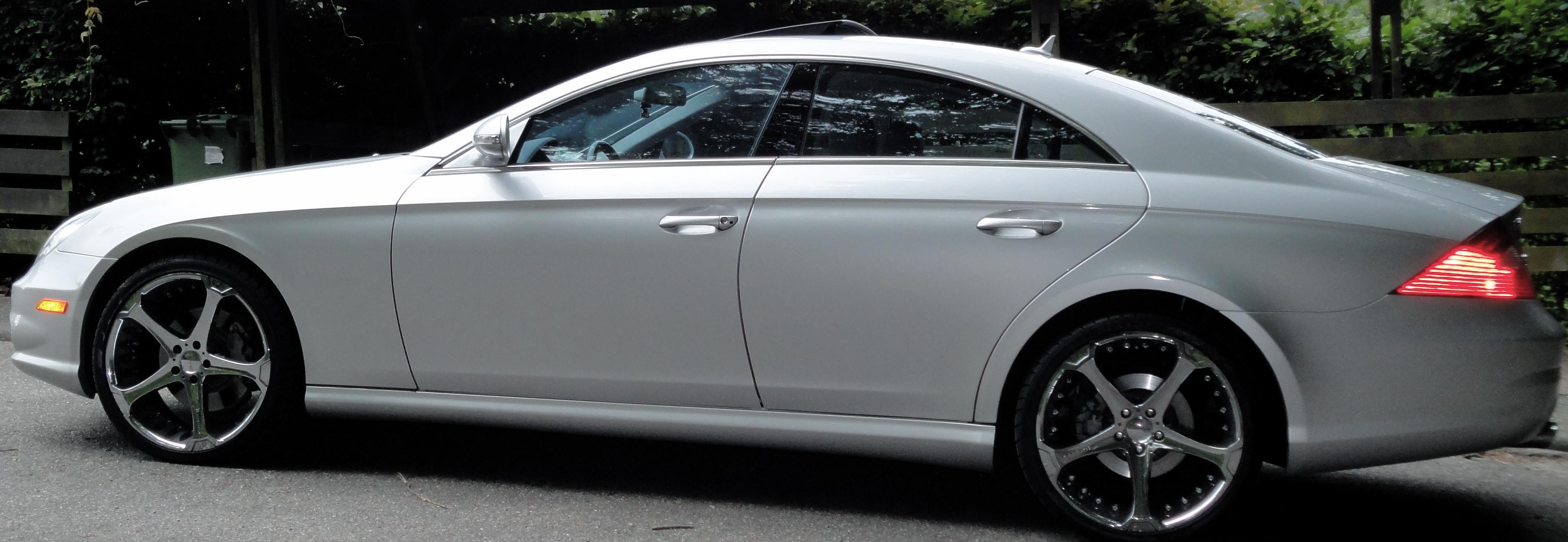 2007 mercedes benz cls class information and photos