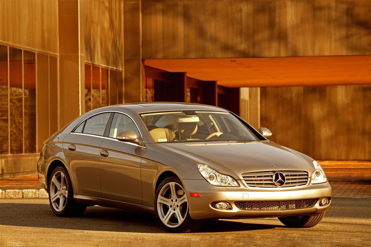2008 Mercedes CLS Facelift Official Released - AutoSpies Auto News