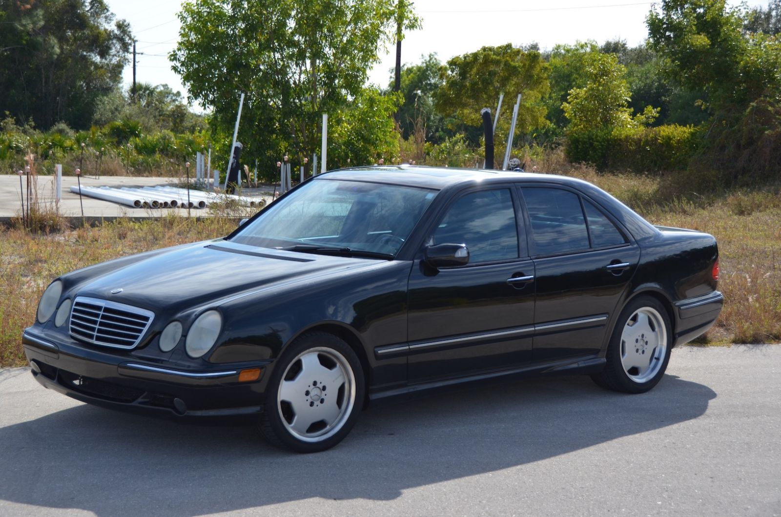 2000 Mercedes Benz E55 Amg Information And Photos