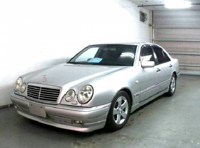 1998 mercedes benz e class information and photos