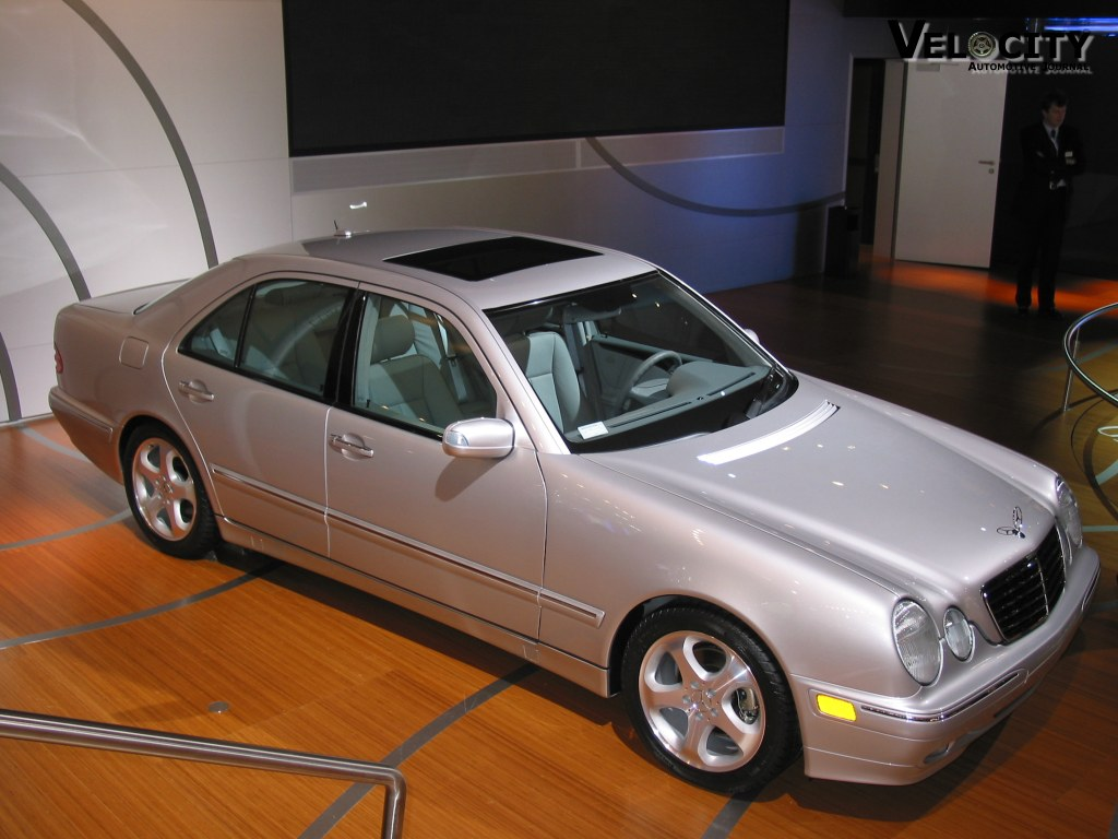2002 mercedes benz e class information and photos. Black Bedroom Furniture Sets. Home Design Ideas