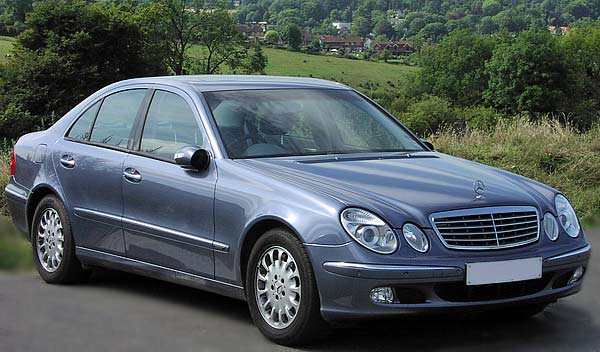 2003 mercedes benz e class information and photos. Black Bedroom Furniture Sets. Home Design Ideas
