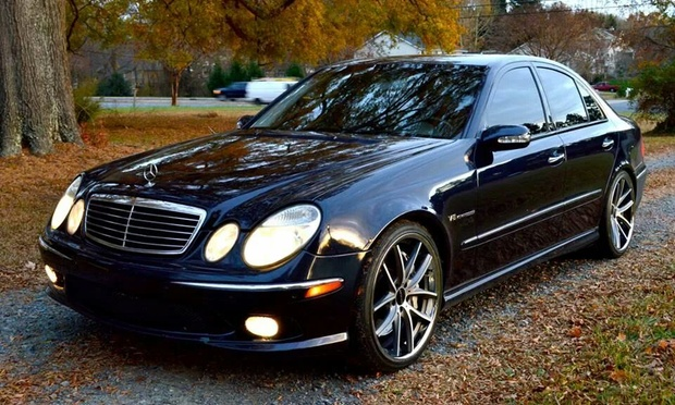 2004 mercedes benz e class information and photos momentcar. Black Bedroom Furniture Sets. Home Design Ideas