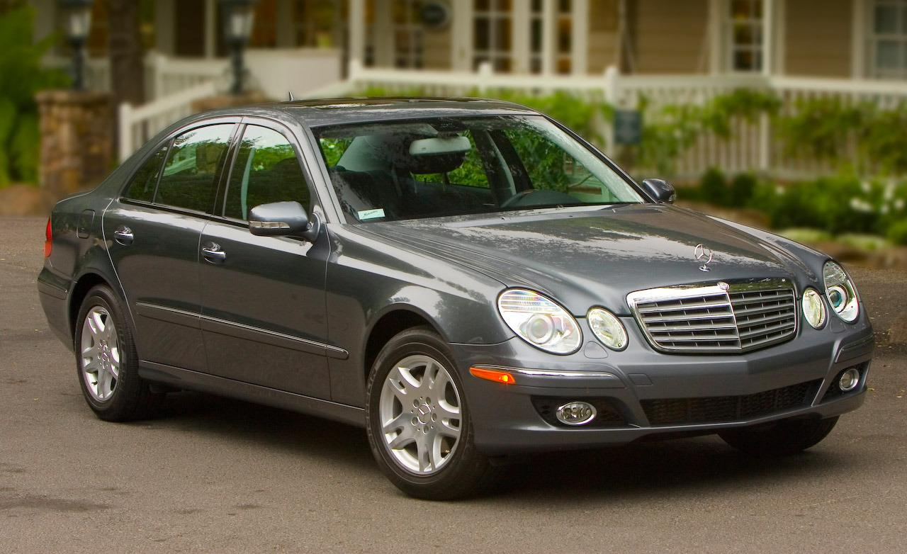 2007 mercedes benz e class information and photos. Black Bedroom Furniture Sets. Home Design Ideas