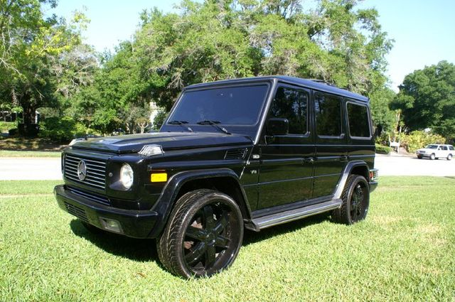 2002 mercedes benz g class information and photos