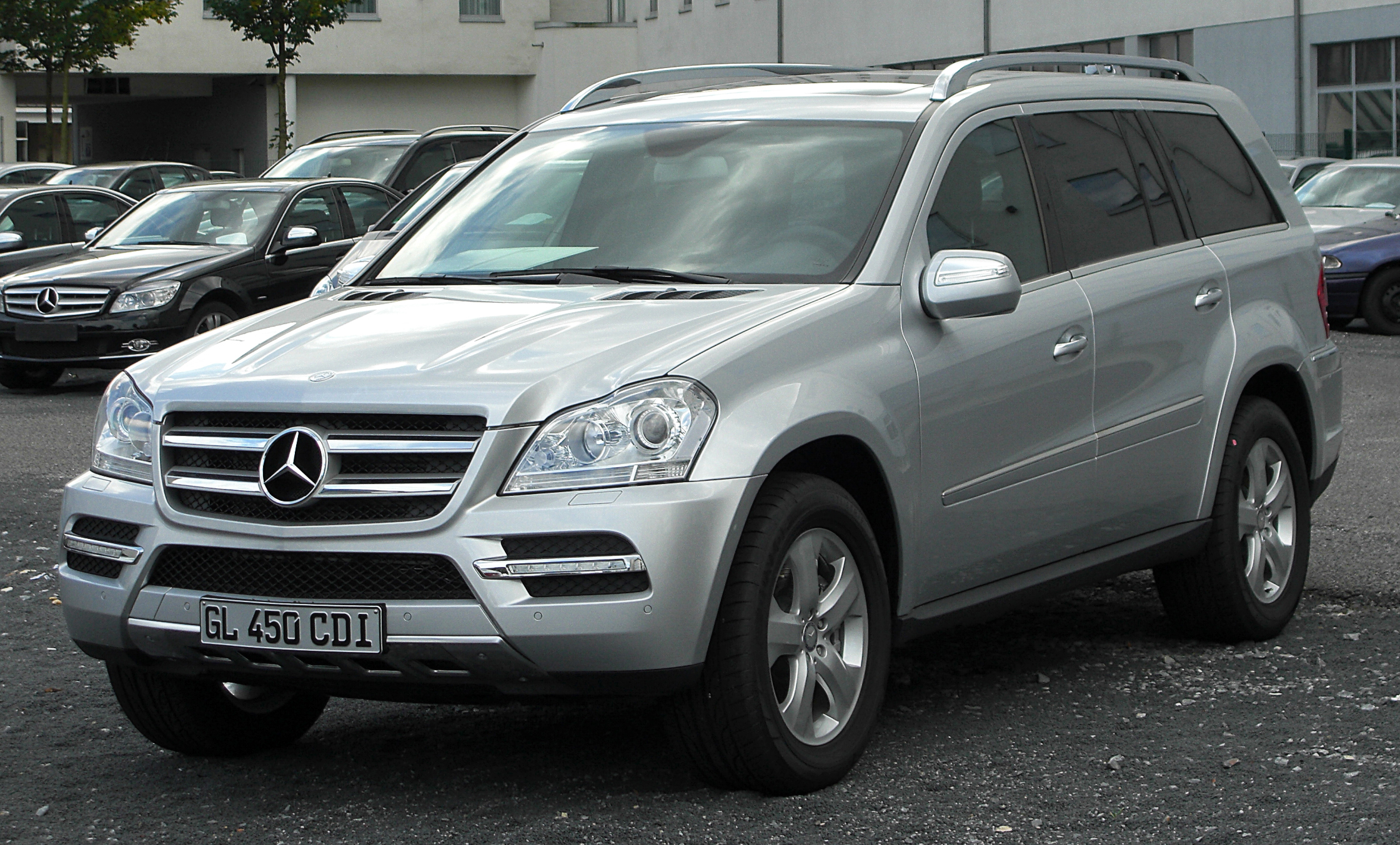 2008 mercedes benz gl class information and photos momentcar. Black Bedroom Furniture Sets. Home Design Ideas