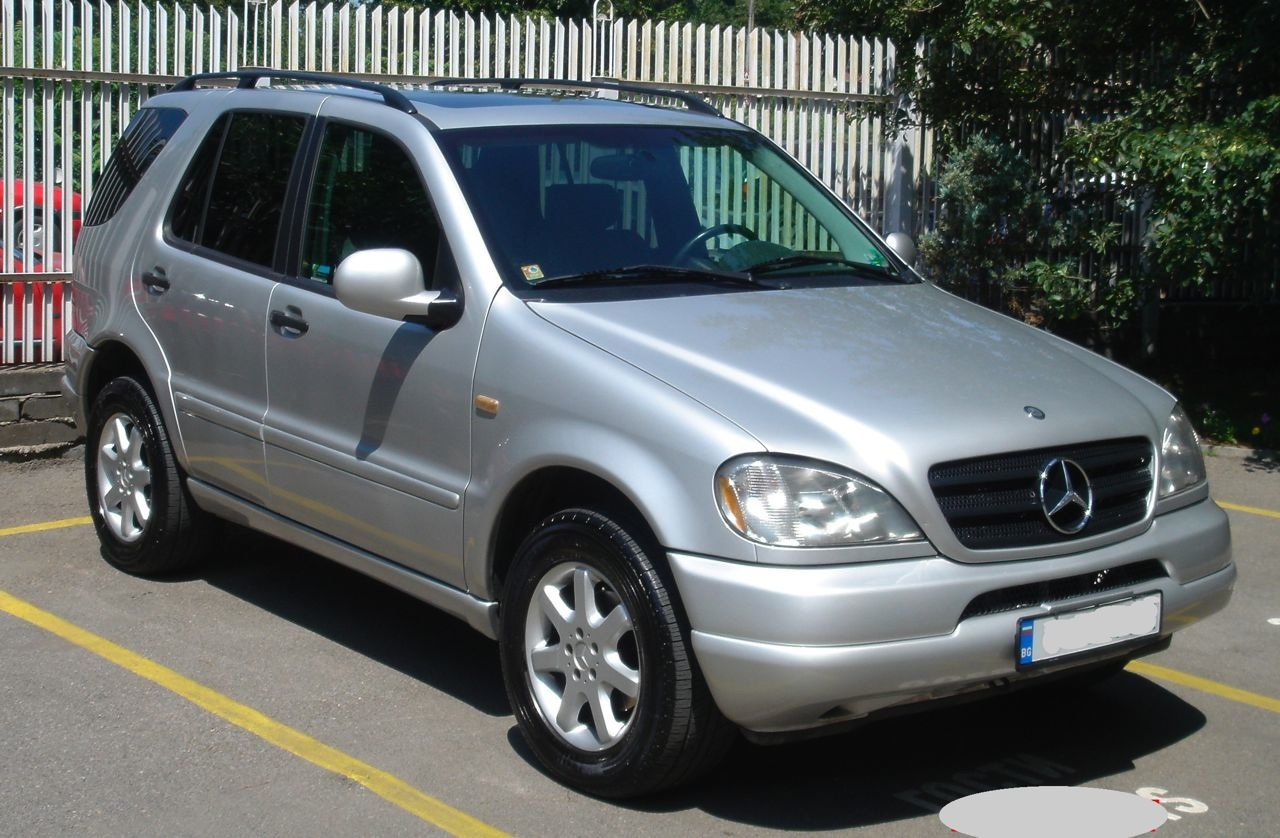 2000 mercedes benz m class information and photos