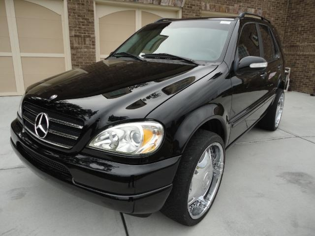 Mercedes benz m class 124px image 3 for Mercedes benz suv 2002