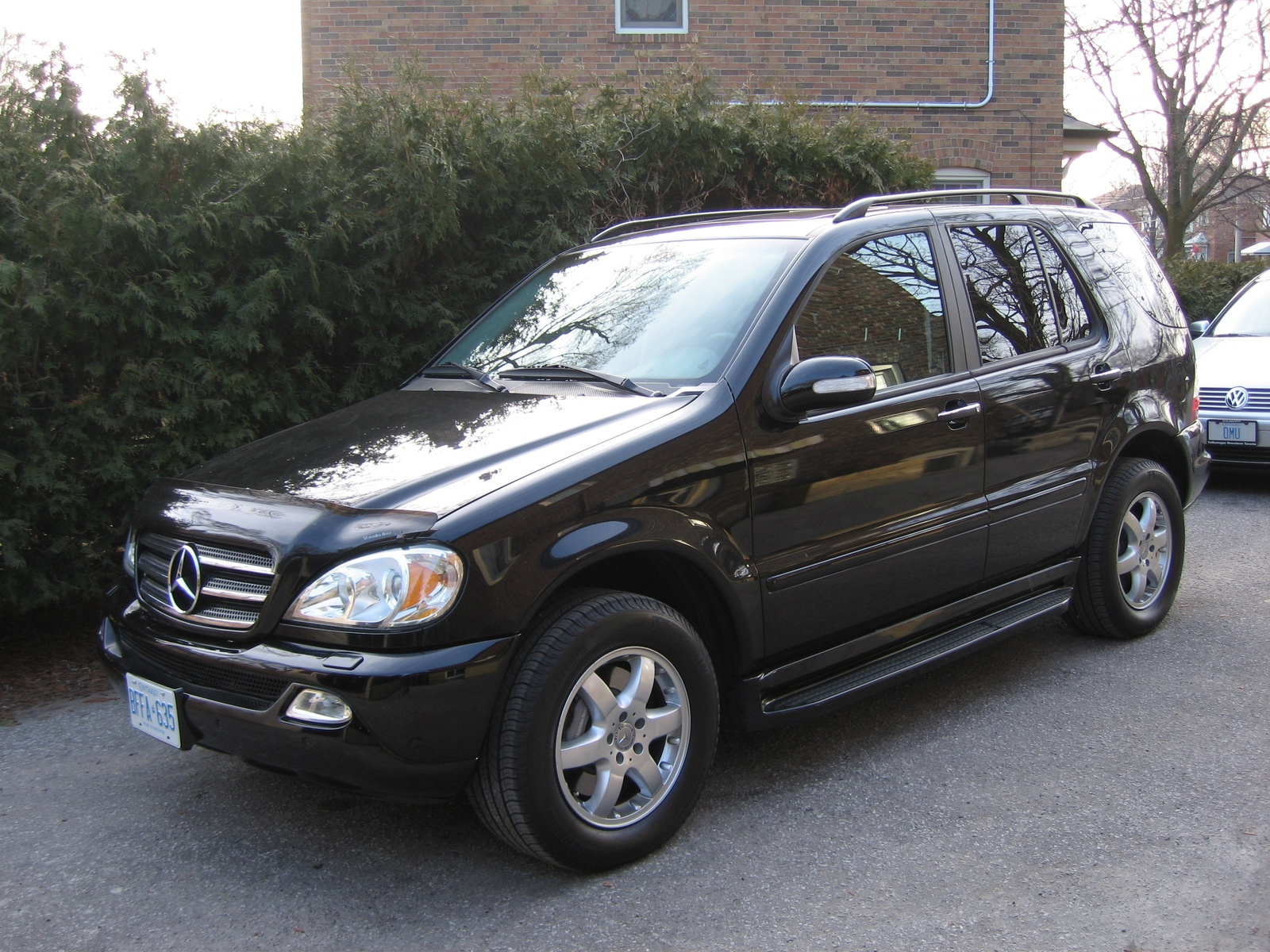 2004 mercedes benz m class information and photos