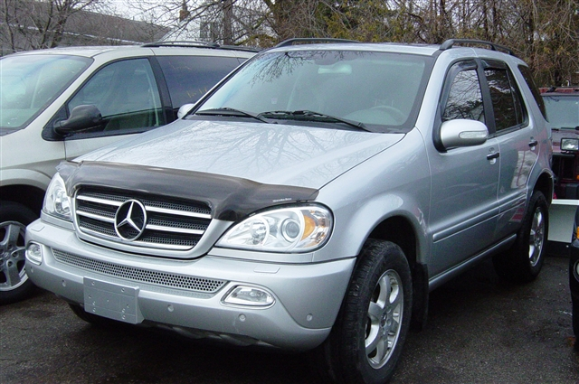 Image gallery 2005 mercedes suv for Mercedes benz safety rating
