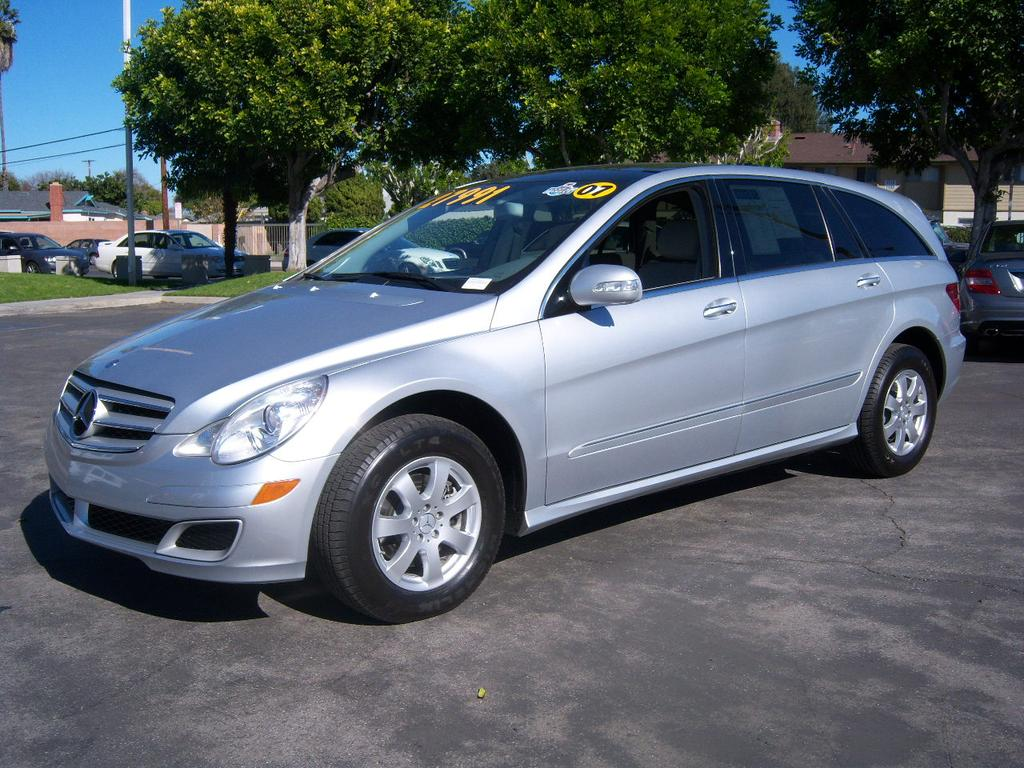 2007 Mercedes Benz R Class Information And Photos