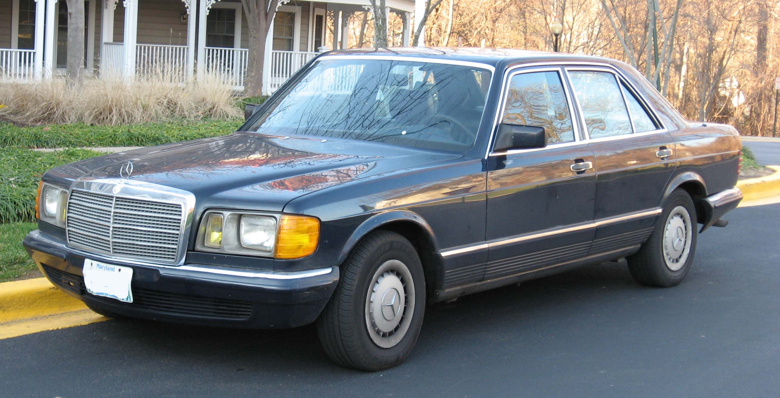 1987 Mercedes Benz S Class Information And Photos Momentcar Smart Fortwo Fuse Box Location 10