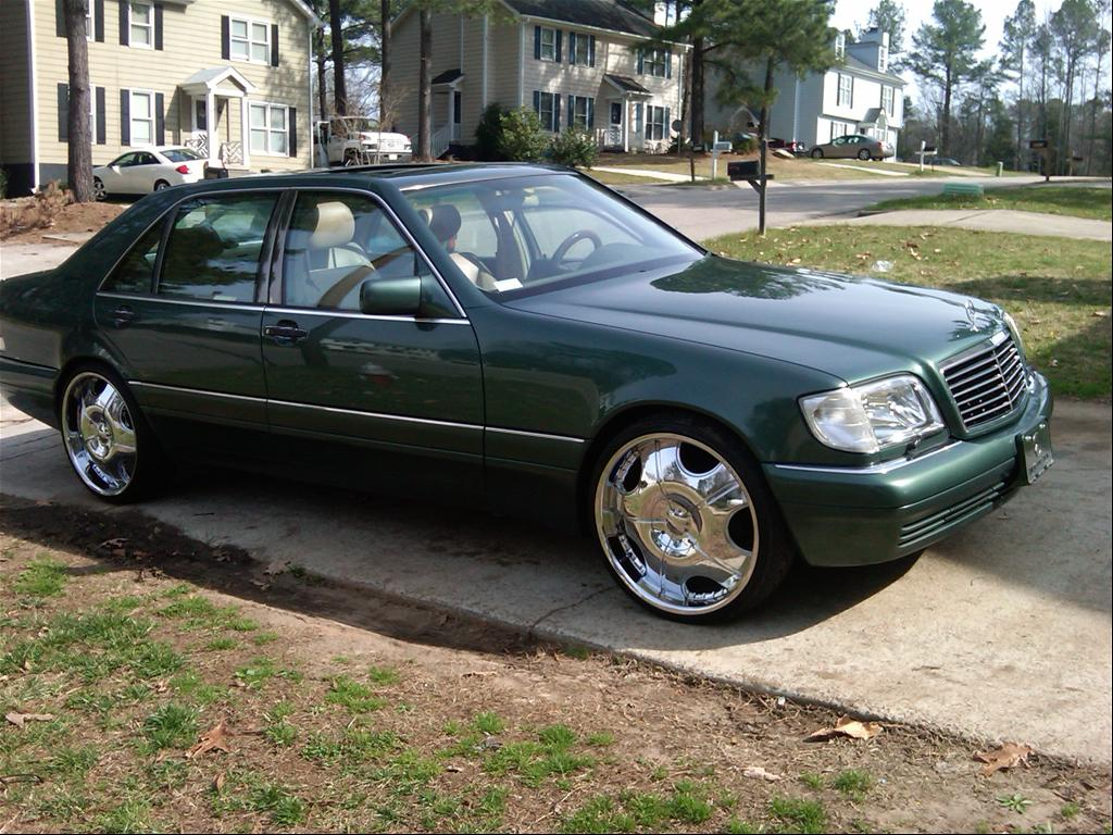 1995 Mercedes Benz S Class Information And Photos