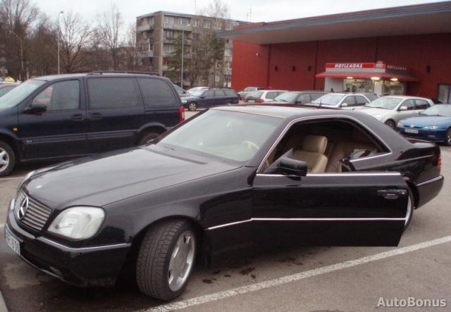 Mercedes S Class 1996 The Image Kid Has It