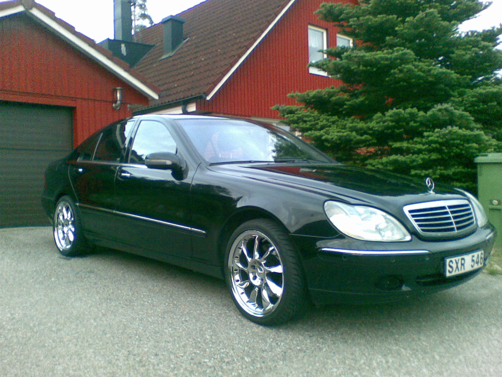 2002 mercedes benz s class information and photos. Black Bedroom Furniture Sets. Home Design Ideas