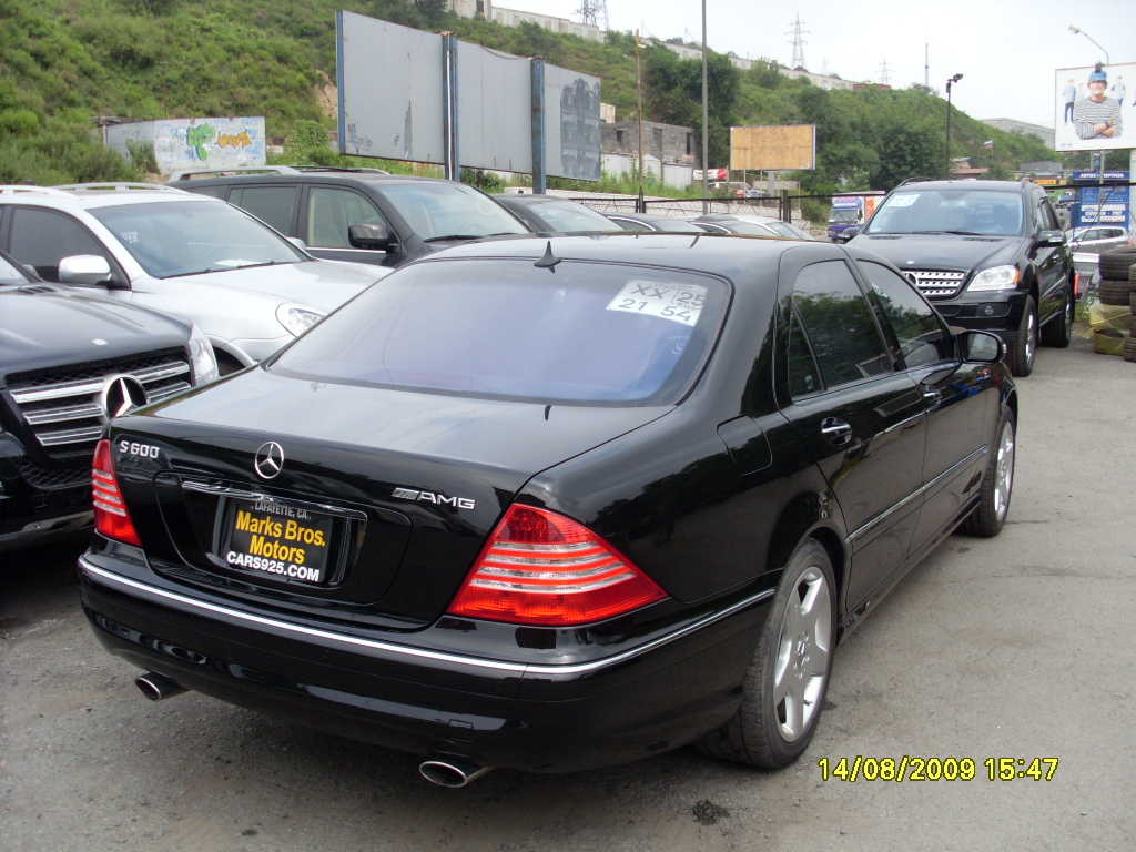 2005 mercedes benz s class information and photos for 2005 s500 mercedes benz