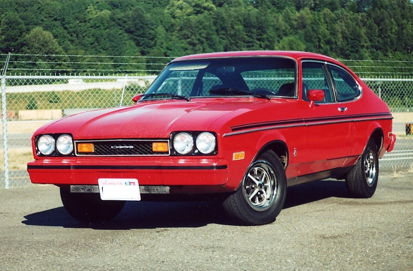 1977 Mercury Capri Information And Photos Momentcar