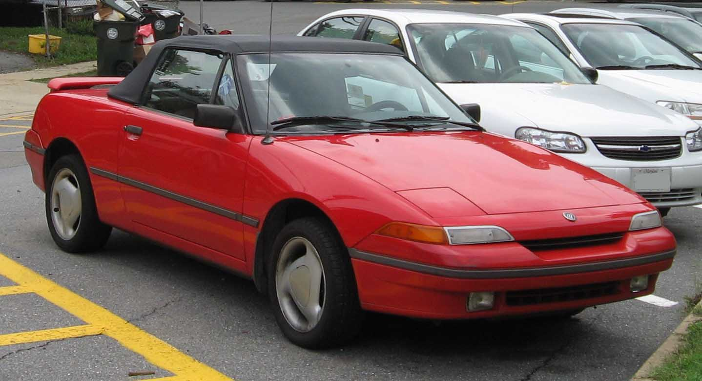 Mercury Capri Base #1