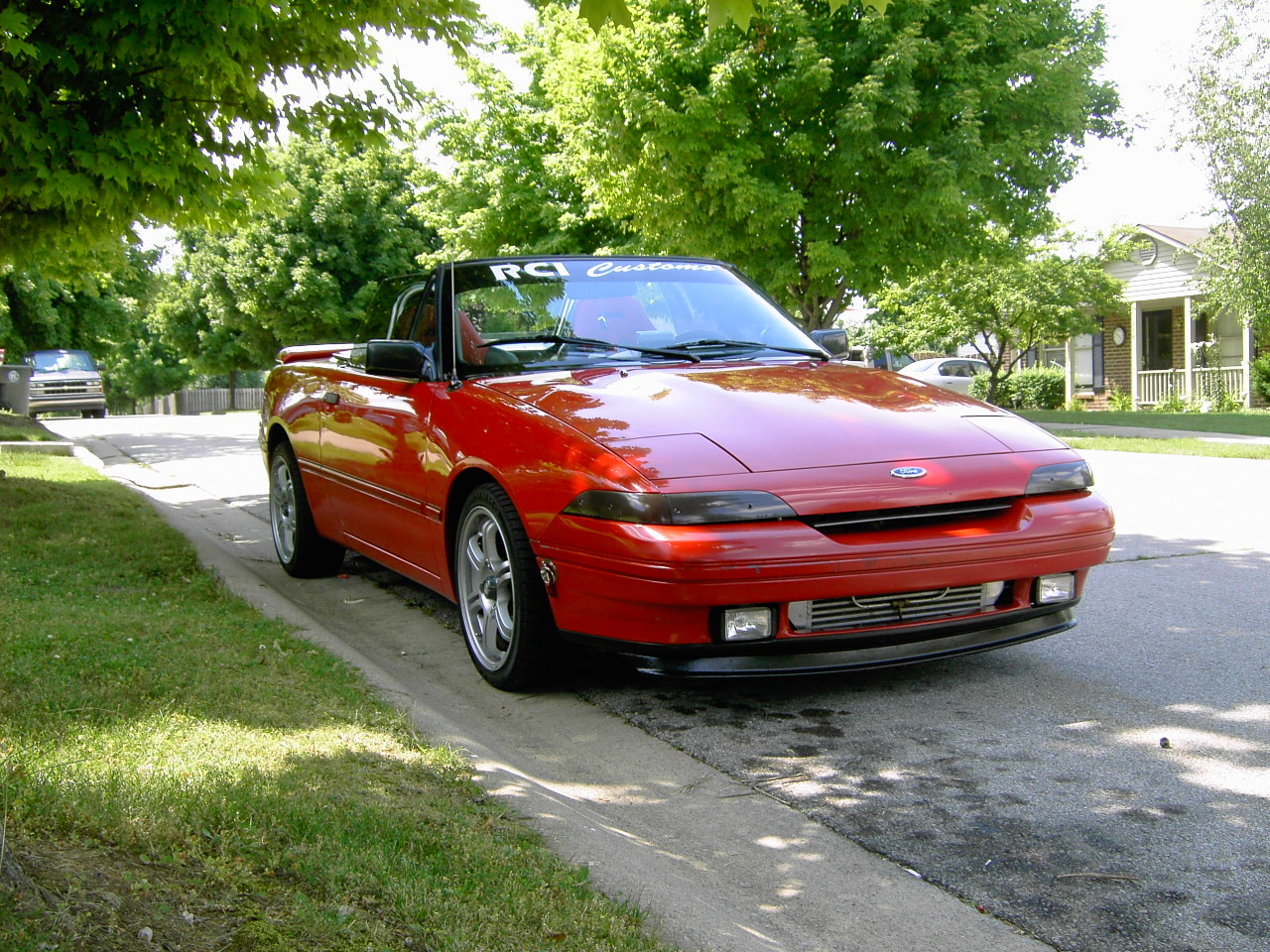 Mercury Capri XR2 #11