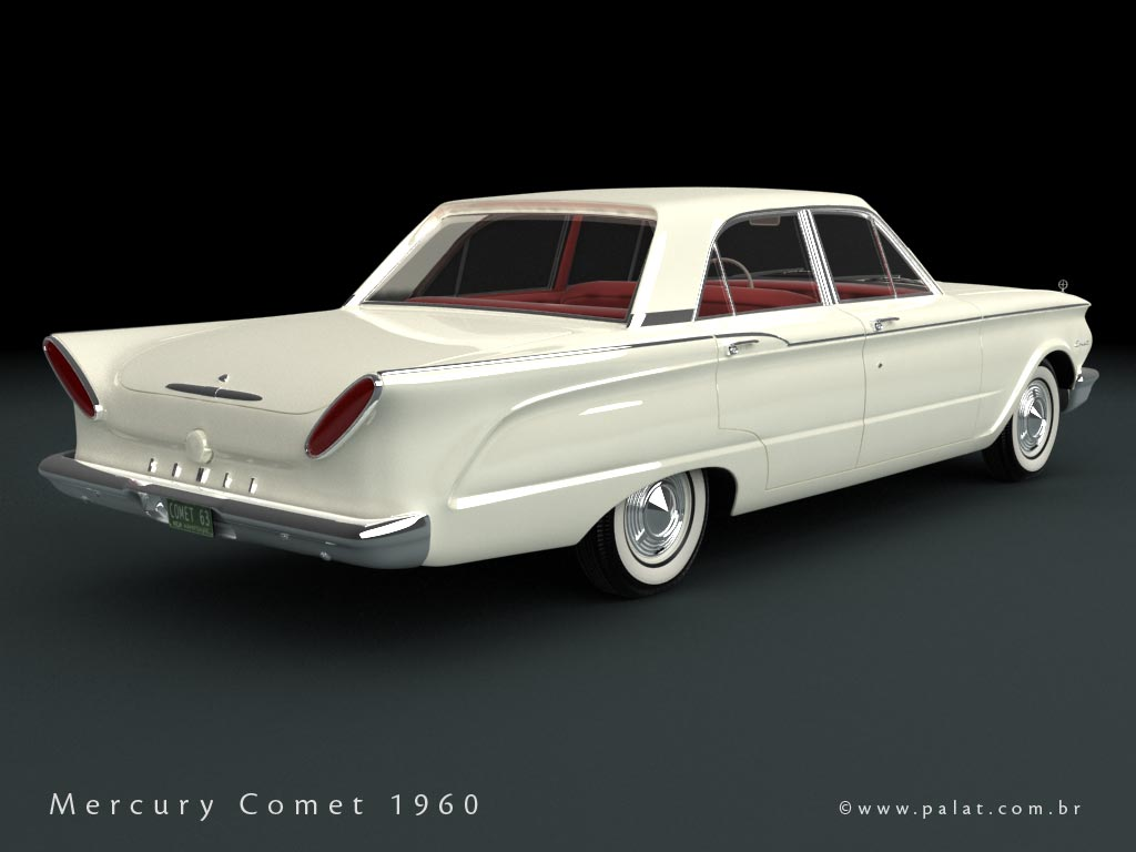 1960 Mercury Comet Information And Photos Momentcar