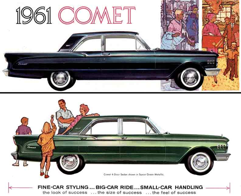 1961 Mercury Comet Information And Photos Momentcar