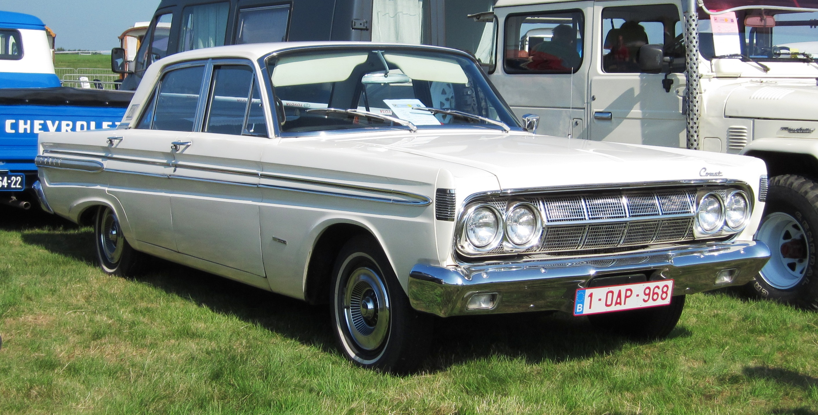 1964 Mercury Comet Information And Photos Momentcar