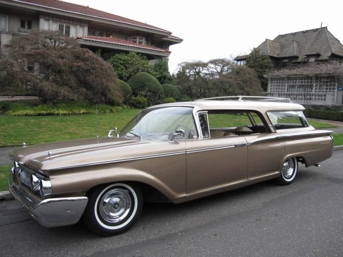 1960 Mercury Commuter Information And Photos Momentcar