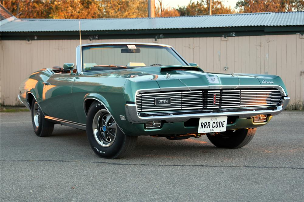 1969 Mercury Cougar - Information and photos - MOMENTcar