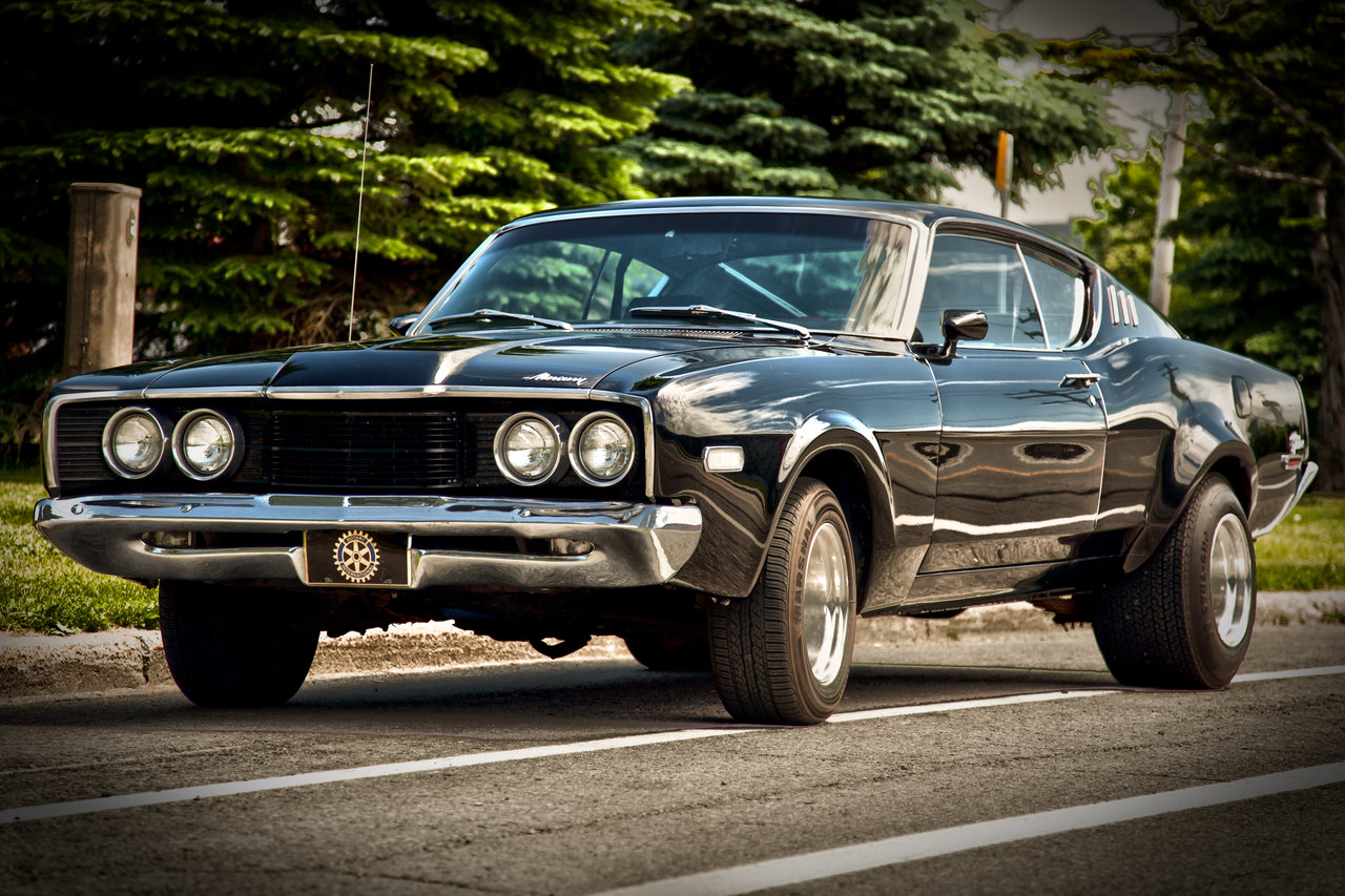 Mercury Cyclone 1968 #3