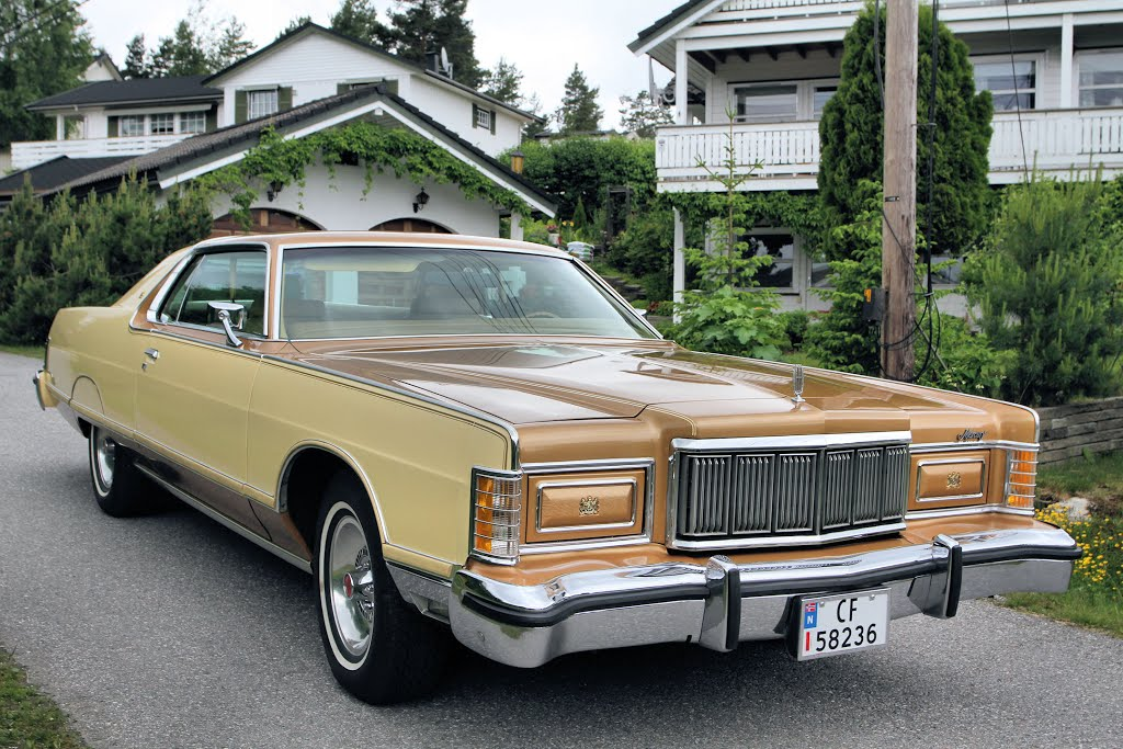 1978 Mercury Grand Marquis - Information and photos ...