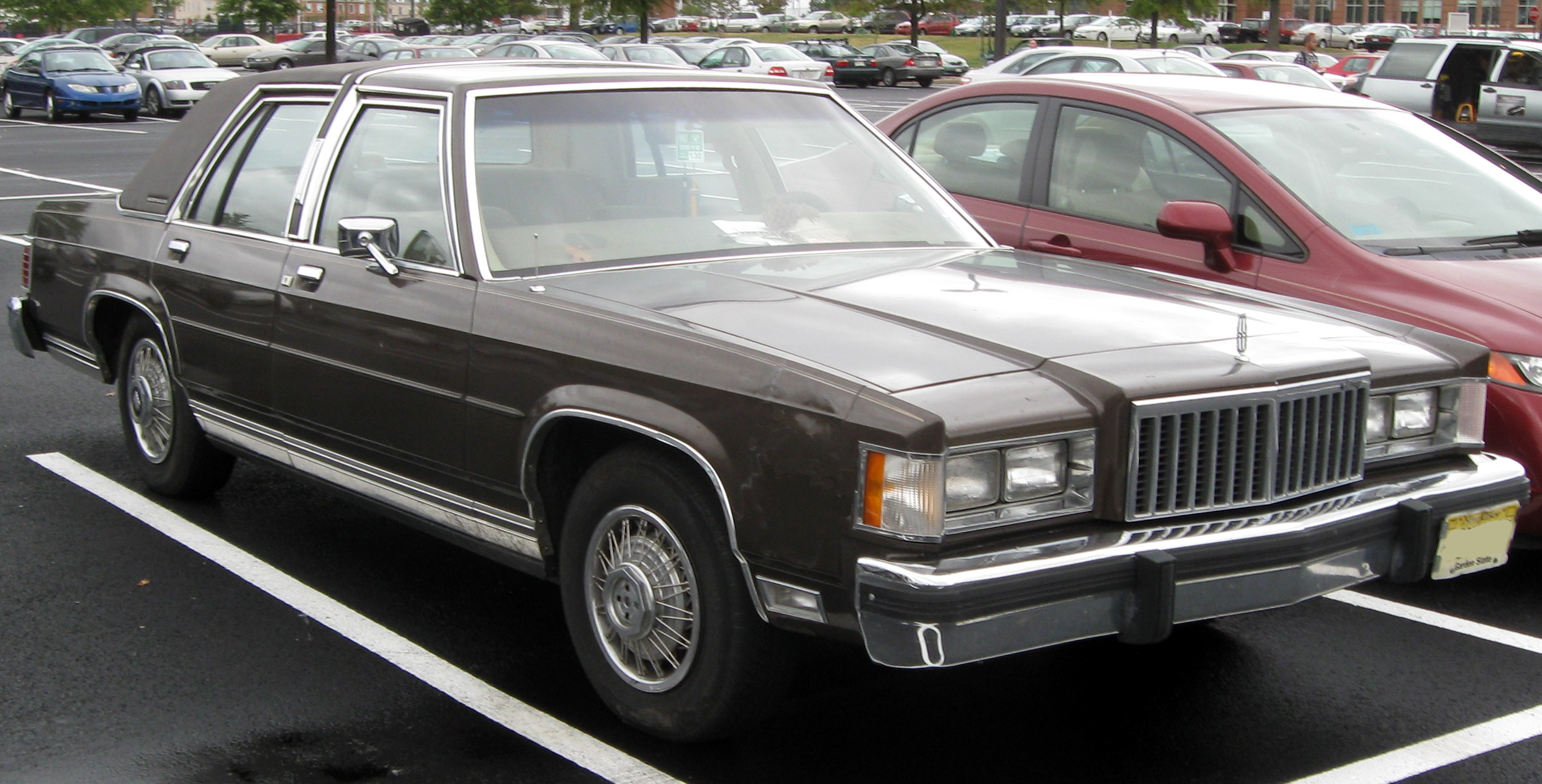 1980 mercury grand marquis information and photos momentcar. Black Bedroom Furniture Sets. Home Design Ideas