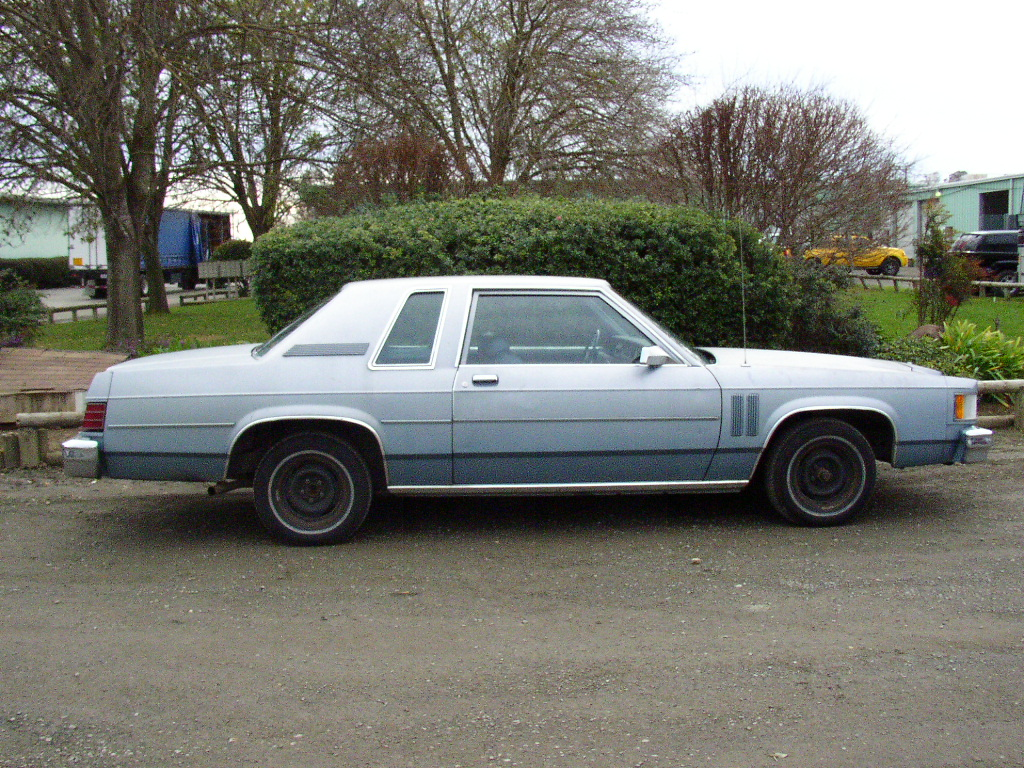 1982 Mercury Grand Marquis Information And Photos