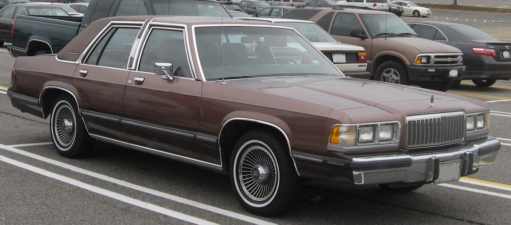 1988 mercury grand marquis information and photos momentcar. Black Bedroom Furniture Sets. Home Design Ideas