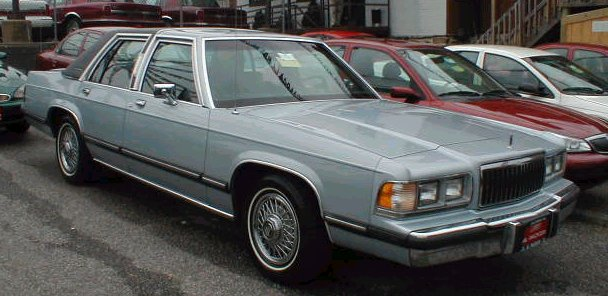 1988 mercury grand marquis information and photos momentcar mercury grand marquis 1988 6 publicscrutiny