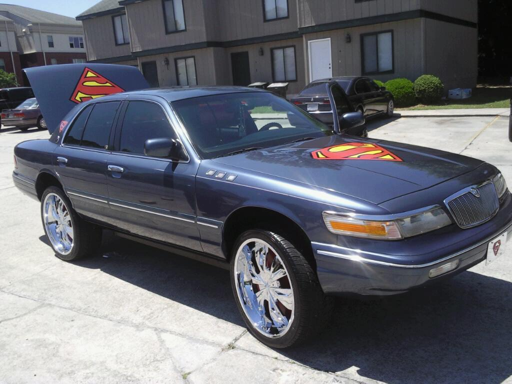 1996 mercury grand marquis information and photos. Black Bedroom Furniture Sets. Home Design Ideas