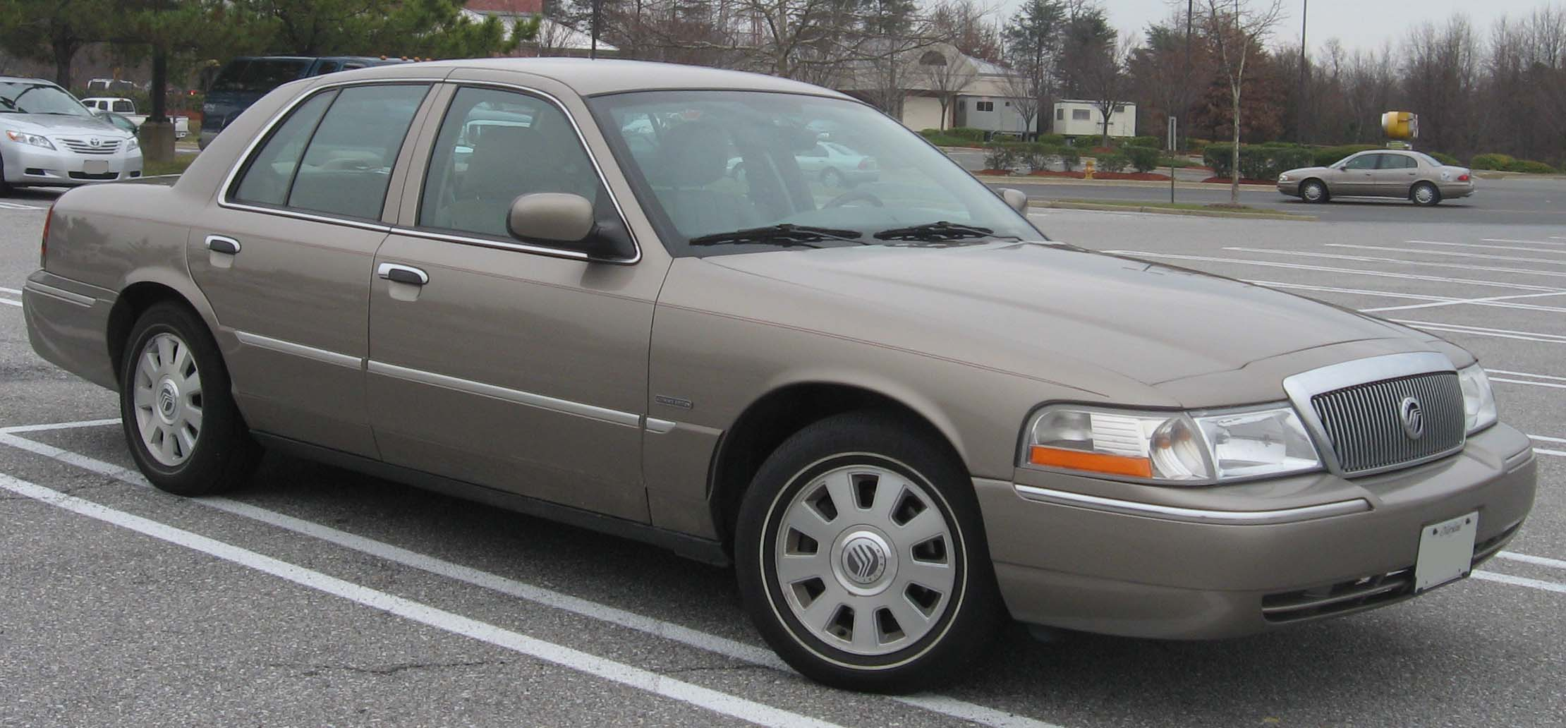 2003 Mercury Grand Marquis Information And Photos